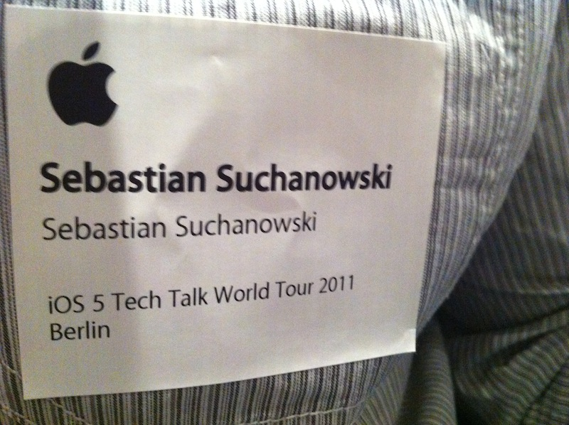 Apple Tech Talk 2011 Badge